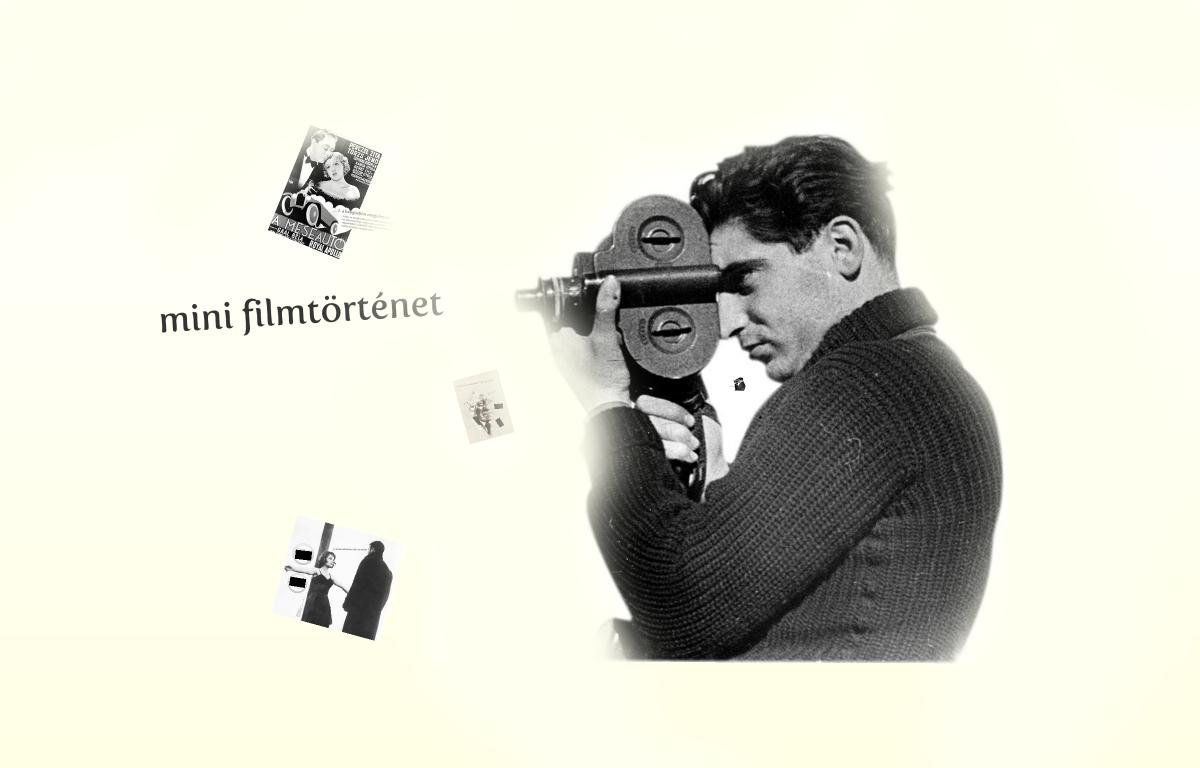 Minifilmtörténet 1-3.