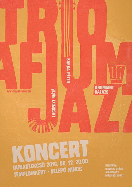 Trio Afium plakát