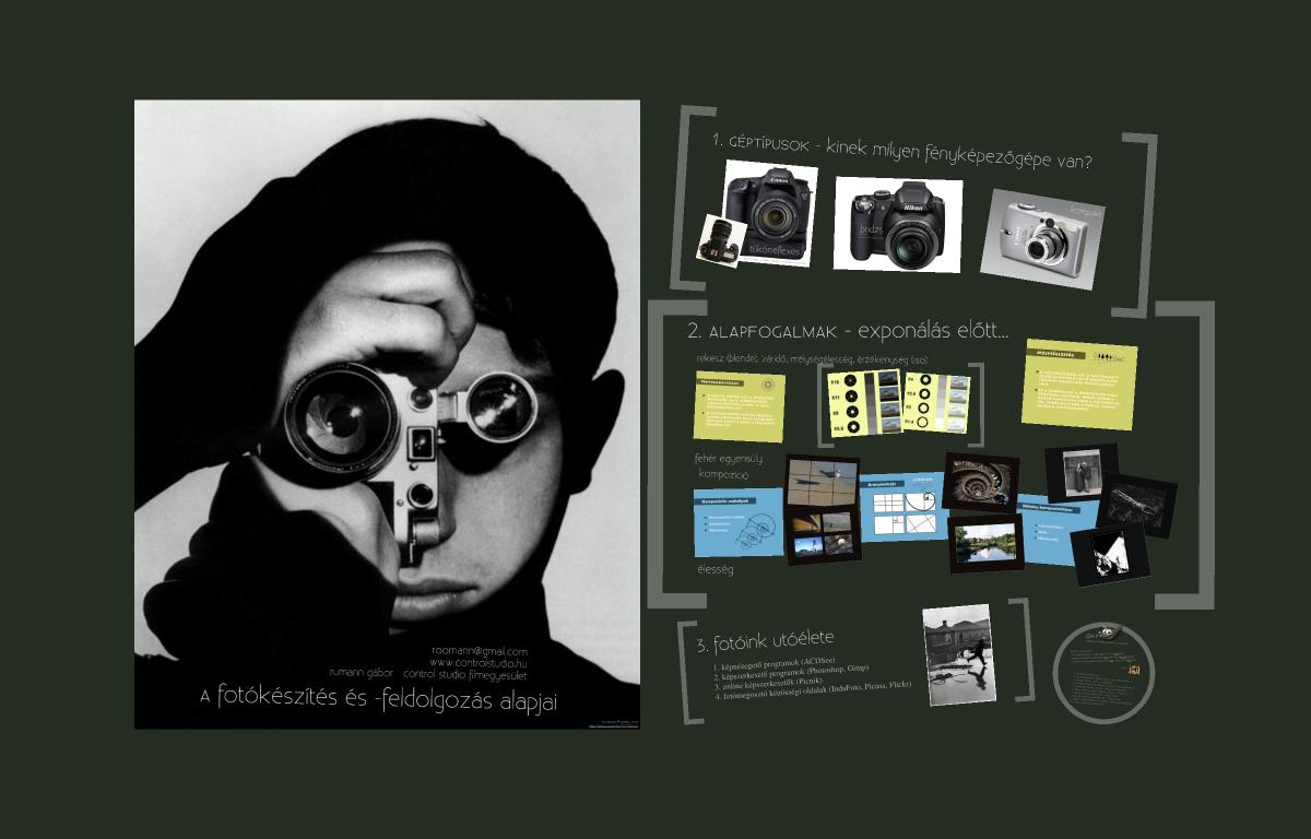 A fotókészítés és a fotófeldolgozás alapjai